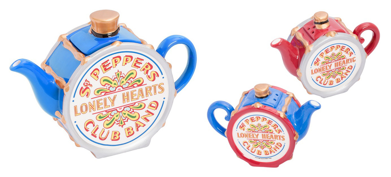 Vandor the Beatles Sgt Pepper/'s Teapot Blue Series