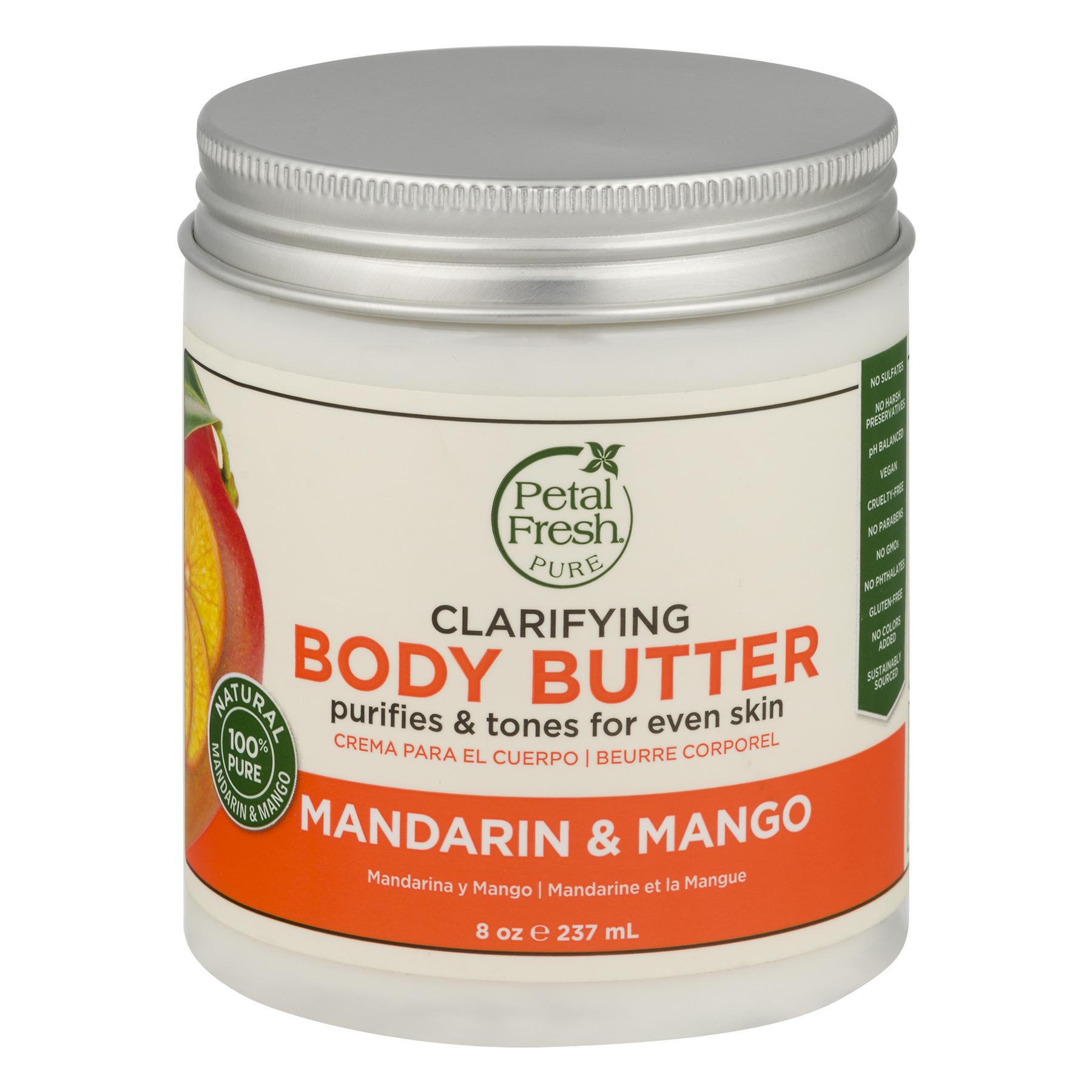 Petal Fresh Clarifying Body Butter Mandarin & Mango, 8.0 OZ
