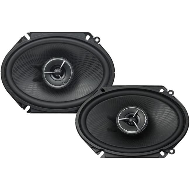 """Kenwood Excelon Kfc-x683c Speaker - 120 W Rms - 360 W Pmpo - 2-way - 80 Hz To 21 Khz - 3 Ohm - 88 Db Sensitivity - 6"""" X 8"""" - Automobile (kfcx683c)"""