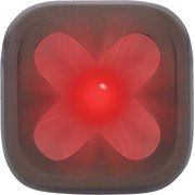 Knog Blinder 1 Cross USB Rechargeable Taillight: Red LED~ Gunmetal Body