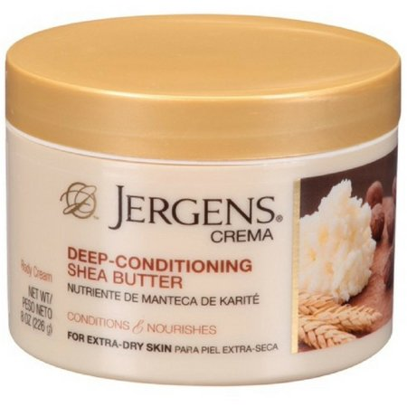 2 Pack - Jergens Crema Deep Conditioning Shea Butter Body Cream with Oatmeal 8 - Butter Oatmeal