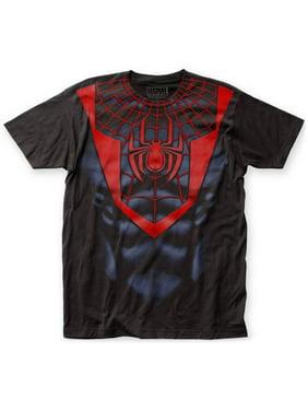 64e7b78b697 Product Image Spider-Man- Miles Morales Costume Tee Apparel T-Shirt - Black.  Impact