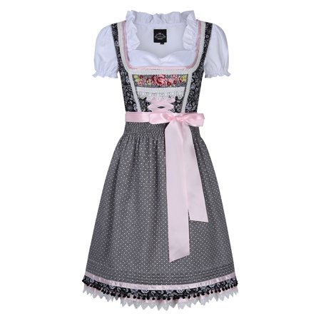 Traditional Oktoberfest Costumes Women's Classic Dirndl Dress Three PCS Suit for Beer Festival