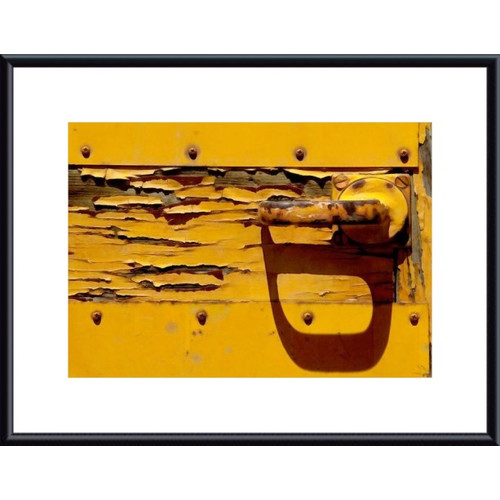 Printfinders Handle and Shadow by John K. Nakata Framed Photographic Print
