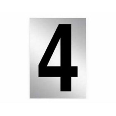 (Salsbury Reflective 3 in. Number)
