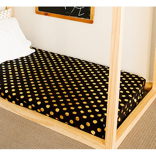 Bambella Designs Polka Fitted Crib Sheet