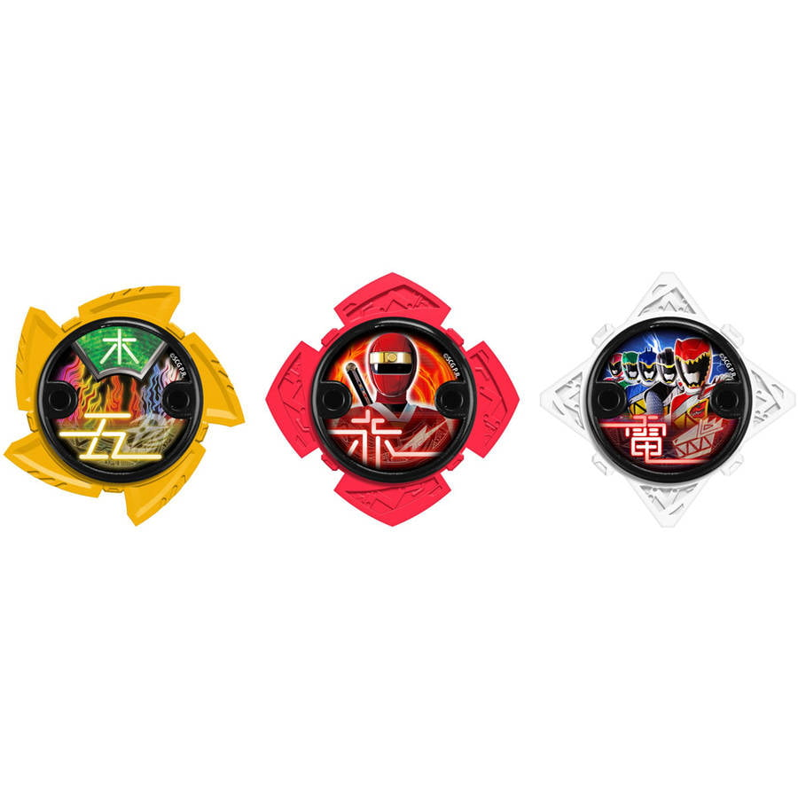 Power Rangers Ninja Steel Ninja Power Star Pack, 43762 by Bandai America, Inc