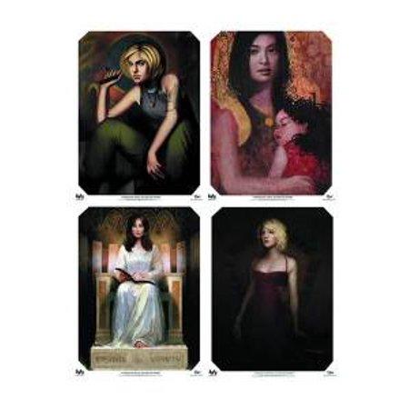 "Poster - Battlestar Galactica - The Ladies of Galactica Set of 4 18x24"" bsg-0042 - image 1 of 1"