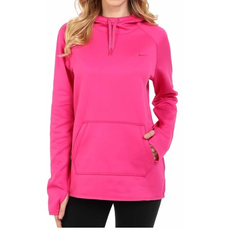 nike womens all time pullover hoodie pink. Black Bedroom Furniture Sets. Home Design Ideas