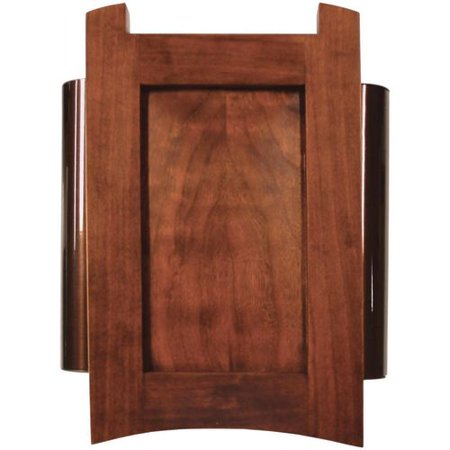 Heath Zenith 56 Wired Doorbell Chime, Solid Cherry Mahogany Finish ...