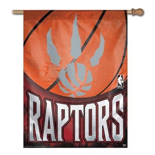 Toronto Raptors Vertical Outdoor House Flag