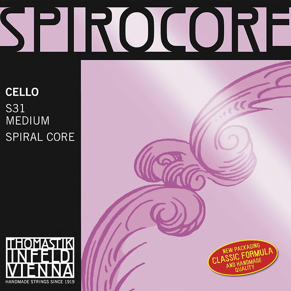 Thomastik Spirocore 4/4 Size Cello Strings 4/4 Set