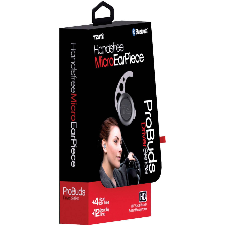 Tzumi Mini Bluetooth Probuds Wireless Stereo Earbuds, Black