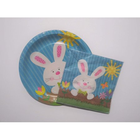 Easter Bunny Plates and - Easter Plates And Napkins