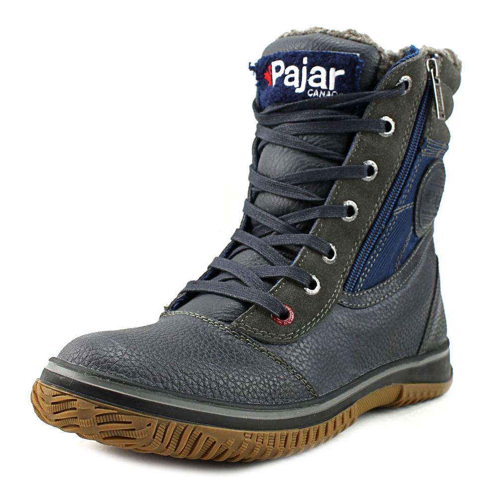 Click here to buy Pajar Trooper Men Round Toe Leather Snow Boot by Pajar.