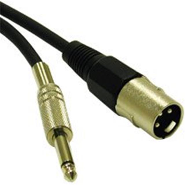 Cables To Go 40034 3ft PRO-AUDIO CABLE XLR MALE to 1-4in MALE
