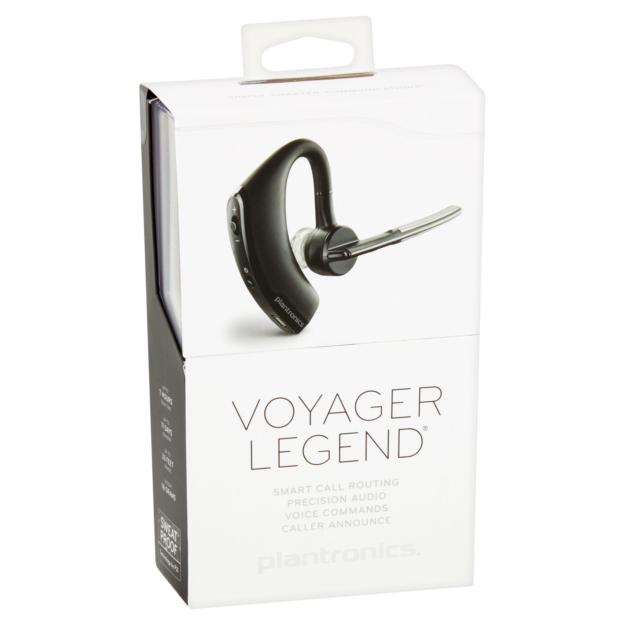 Plantronics Voyager Legend Bluetooth Headset Walmart Com Walmart Com