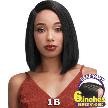 """Sis Slay 6"""" Deep Part Lace Front Wig - GIA (FS1B/Burg)"""