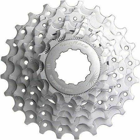 8 Speed Sunrace Road Bike Cassette  (Shimano or Sram) Compatible