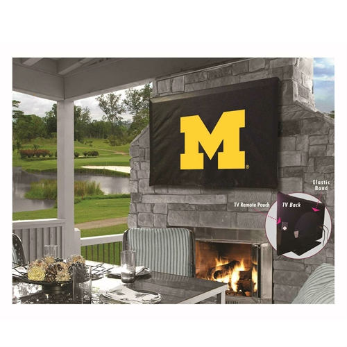 NCAA TV Cover by Holland Bar Stool, 40''-46'' -  Michigan Wolverines