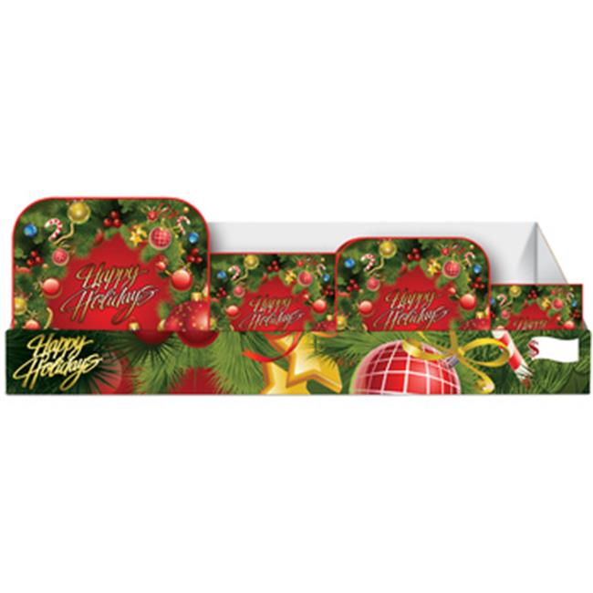DDI 2277359 Holiday Wreath Pre-Packed Counter Display - 96 Count - image 1 de 1