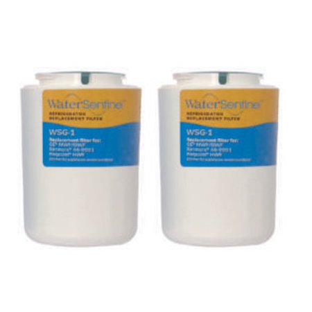 Water Sentinel WSG-1 Refrigerator Filter | GE MWF / GWF Compatible | 2 Pack