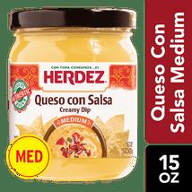 Salsas & Dips: Herdez Queso Con Salsa
