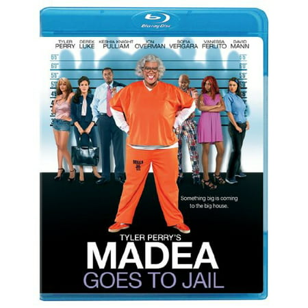 Tyler Perrys Madea Goes To Jail  Blu Ray