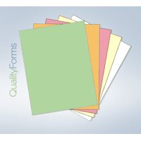 "8-1/2 x 11"" Laser-Carbonless 5 Part Paper - Ream - Reverse"