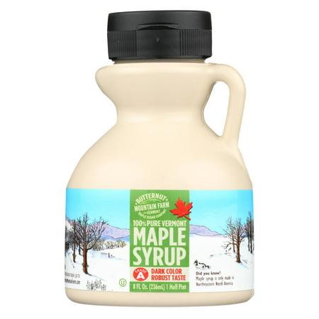Butternut Mountain Farm - Maple Syrup - Dark Grade A - Case Of 24 - 8 Fl Oz. (Butternut Mountain Farm)
