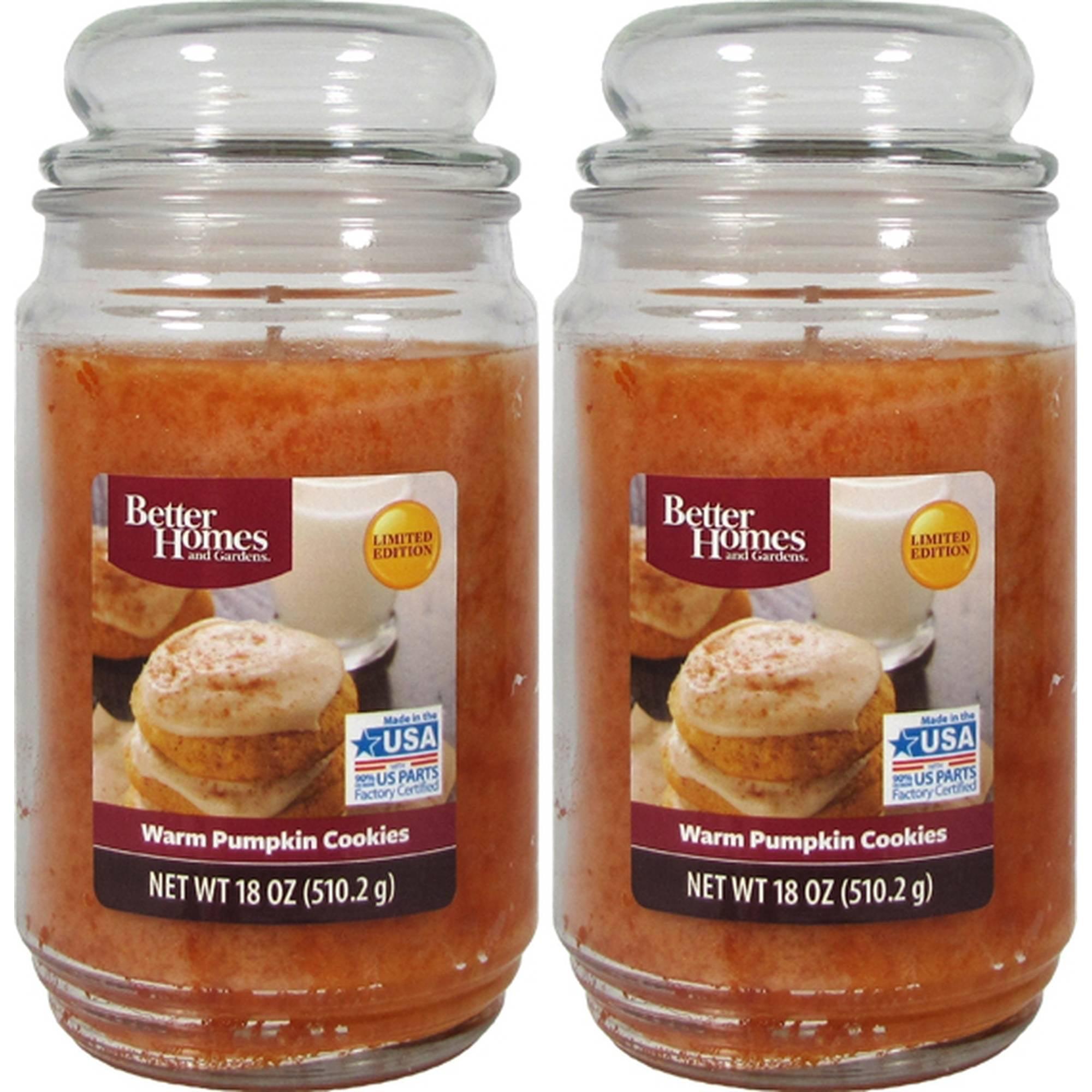 Better Homes And Gardens 18oz 2 pk. Warm Pumpkin Cookies