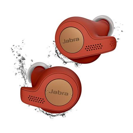 Jabra Earbud - Jabra Elite Active 65t Copper Red True Wireless Sport Earbuds