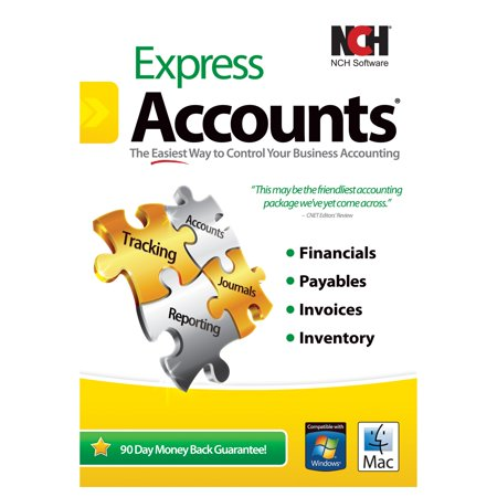 Nch Software Express Accounts   Accounting   Pc  Mac