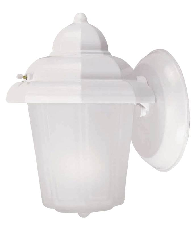 Boston Harbor AL9002H-43L Lantern Porch Light Fixture, Medium, 60 W, 1 Lamp by Mintcraft