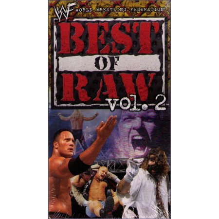 WWF Best of Raw Vol. 2 (2001) Wrestling WWE VHS (Best Of Wwf Volume 15)