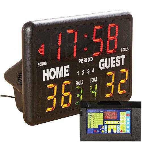 macgregor multisport indoor scoreboard with remote walmart com rh walmart com