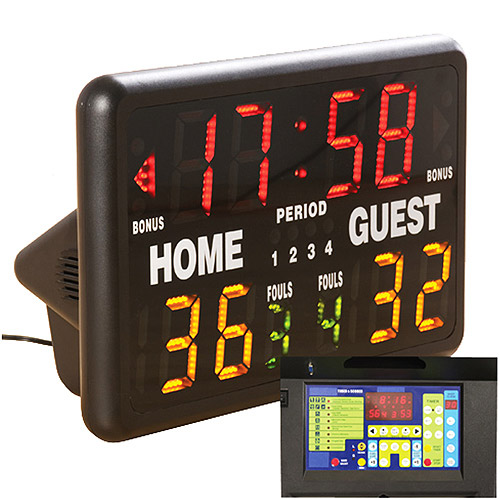 MacGregor Multisport Indoor Electronic Scoreboard with Remote