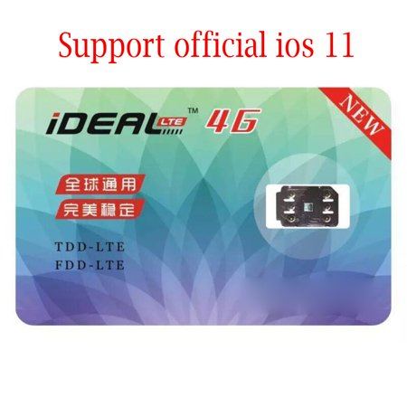 iDeal Unlock Turbo Sim Card GPP for iPhone 7 Plus For6S6-Plus-5-5S-5C-SE (Iphone 3 To Iphone 4 Sim Card)