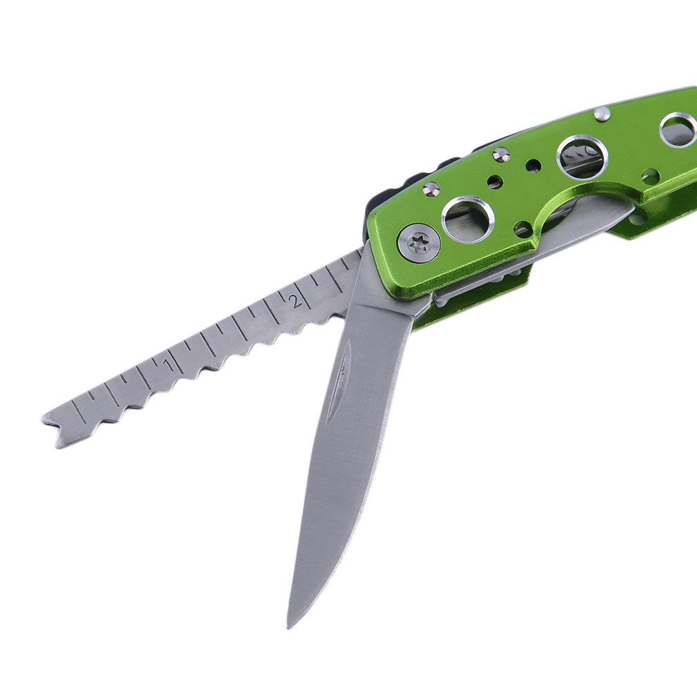 Leshp ProjectJ-1002/1003 9 In 1 Multifunctional Tool Folding Pliers Bottle Opener