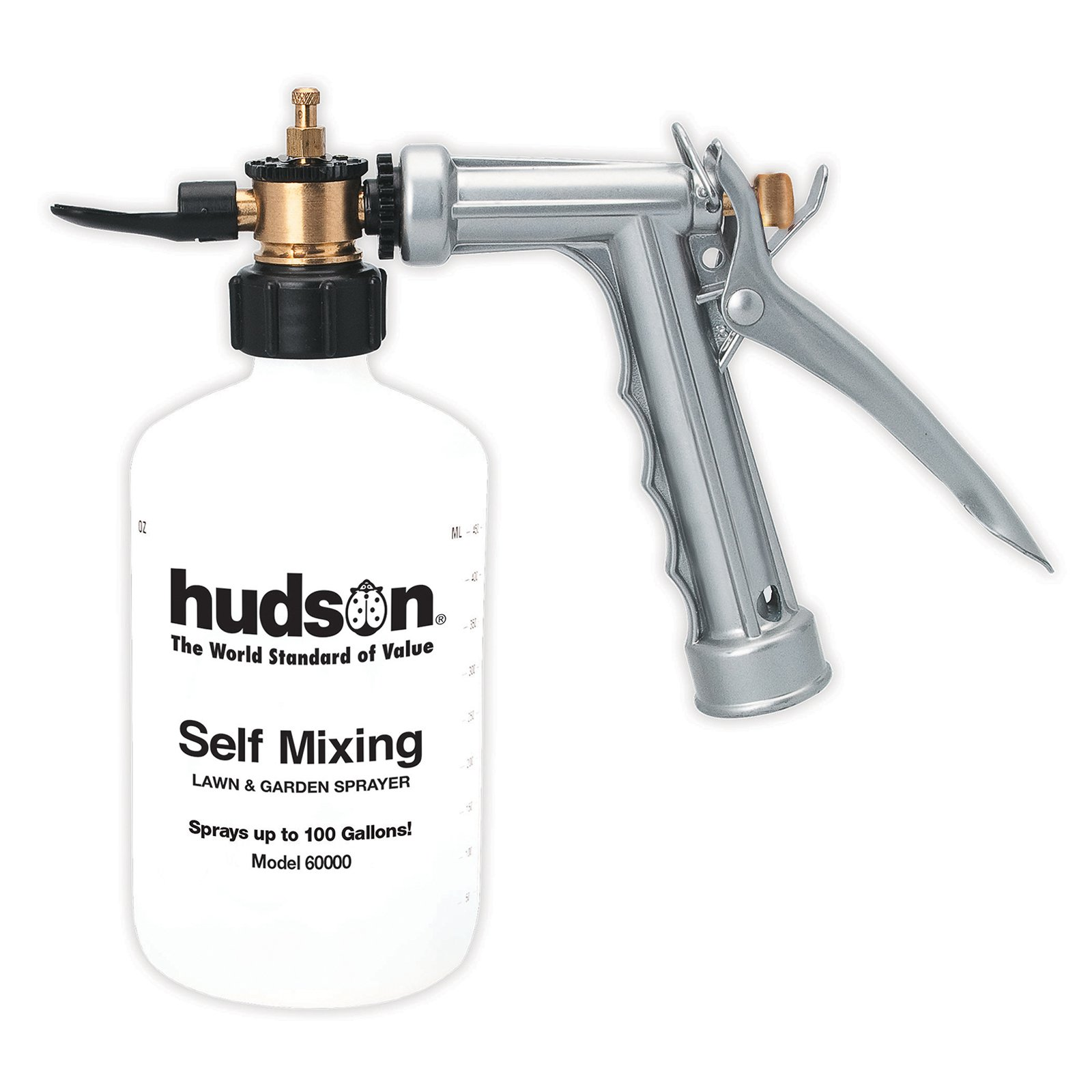 Hudson 60000 Self-Mixing Metal Hose End Sprayer by Generic