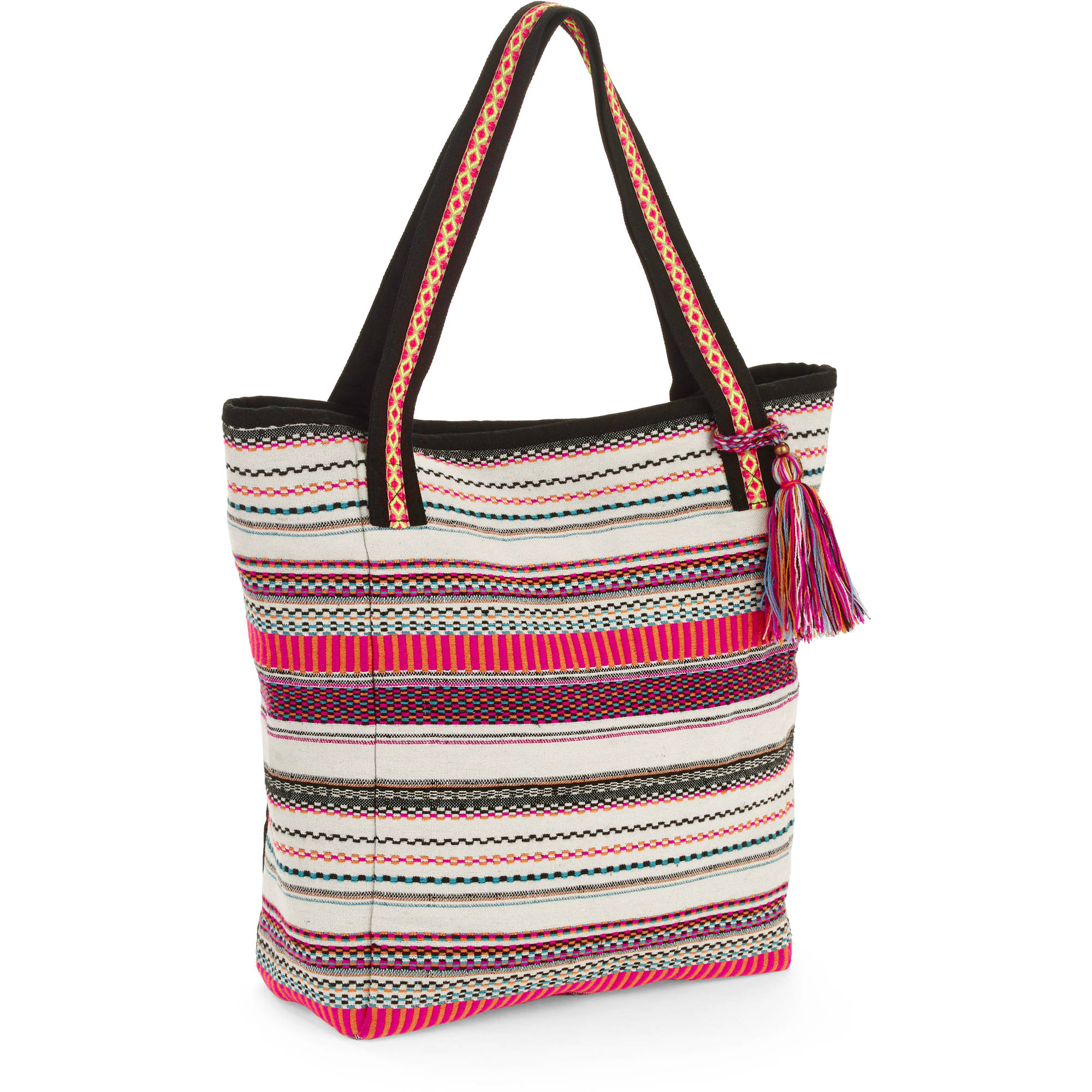 No Boundaries Women's woven Tote