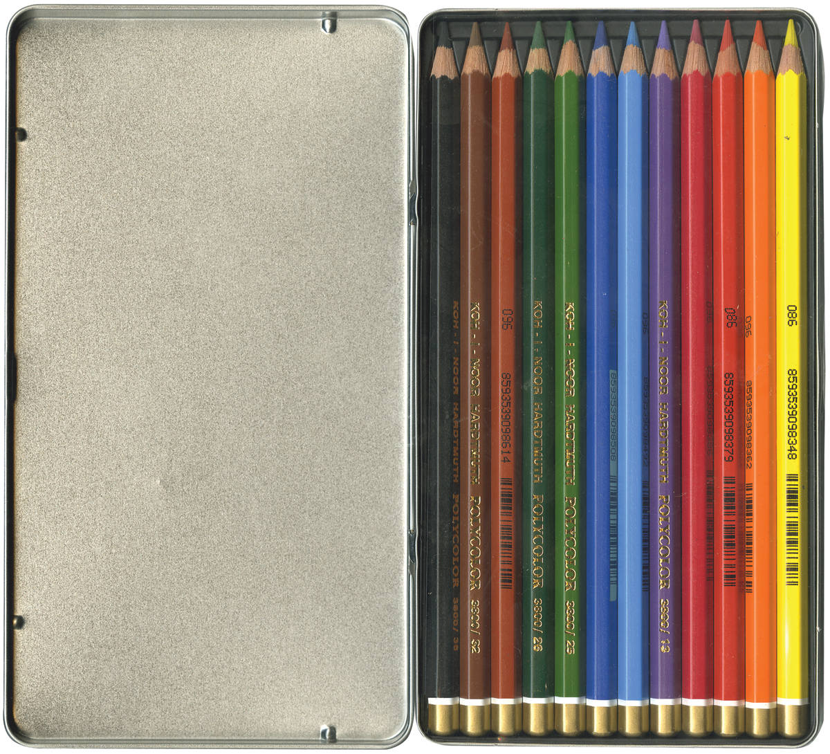 Mondeluz Aquarell Watercolor Pencils 12/Pkg-