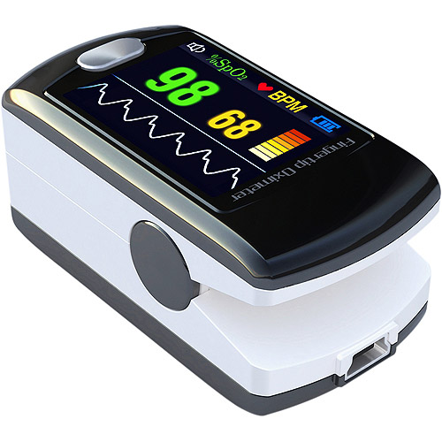 NatureSpirit Bluetooth Wireless Fingertip Pulse Oximeter