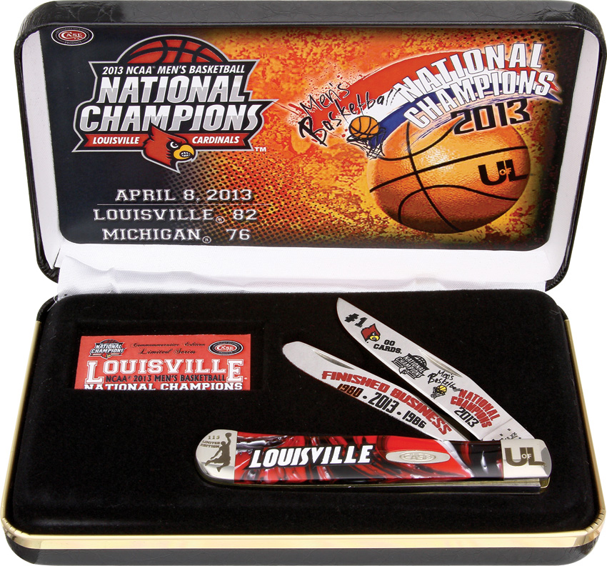 Case Louisville Nat Champ MB Multi-Colored