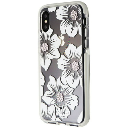 Kate Spade Defensive Hardshell Case for iPhone XS / X - Hollyhock White (Best Spades Game For Iphone)