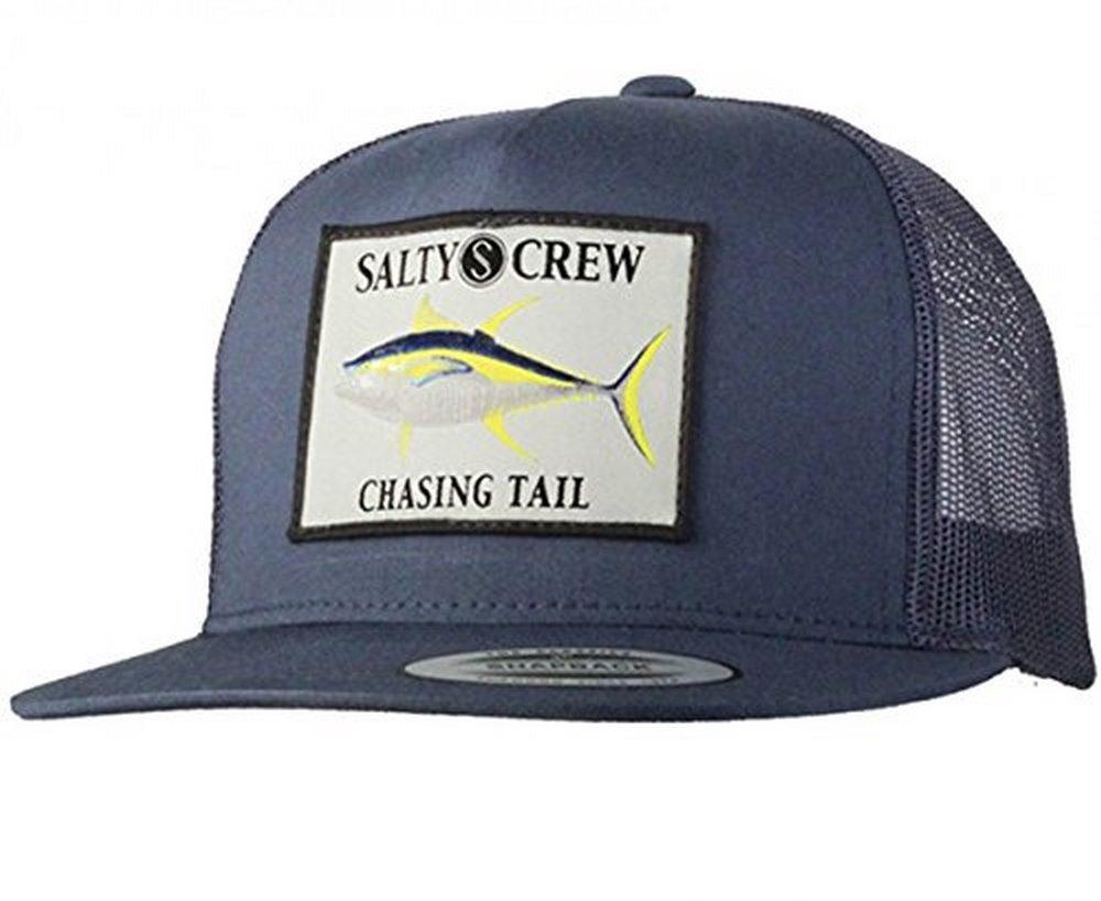663a61974b5 Salty Crew Mens Ahi Patched Trucker Hat - Walmart.com