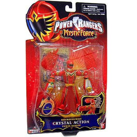 Power Rangers Mystic Force Red Crystal Action Power Ranger Action