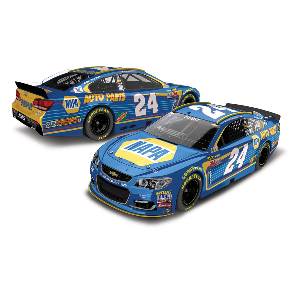 Action Racing Chase Elliott 2017 #24 NAPA 1:24 Monster Energy Nascar Cup Series Die-Cast... by Lionel LLC