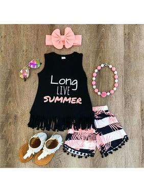 a22afa36cf4dc Pink Girls Outfit Sets - Walmart.com