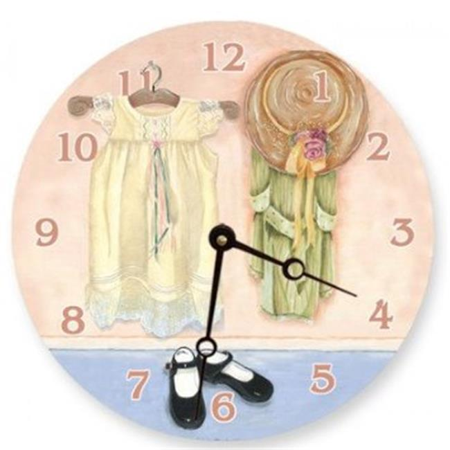 Lexington Studios 23100R Kaylas Closet Round Clock by Lexington Studios